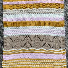 BERROCO CASAPINKA  Sharon's Glamping Blanket