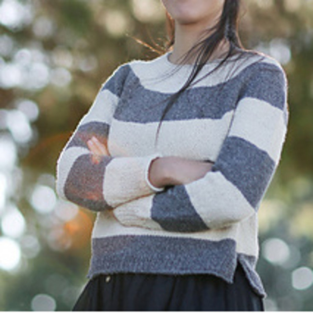 Magpie Knits MAGPIE KNITS  Super Simple Sweater Knit-a-Long