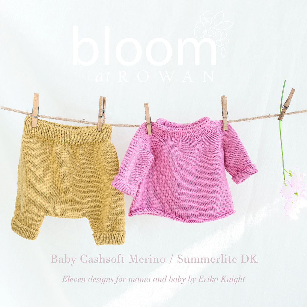 ROWAN ROWAN Bloom 2 Baby CashSoft  Summerlite DK