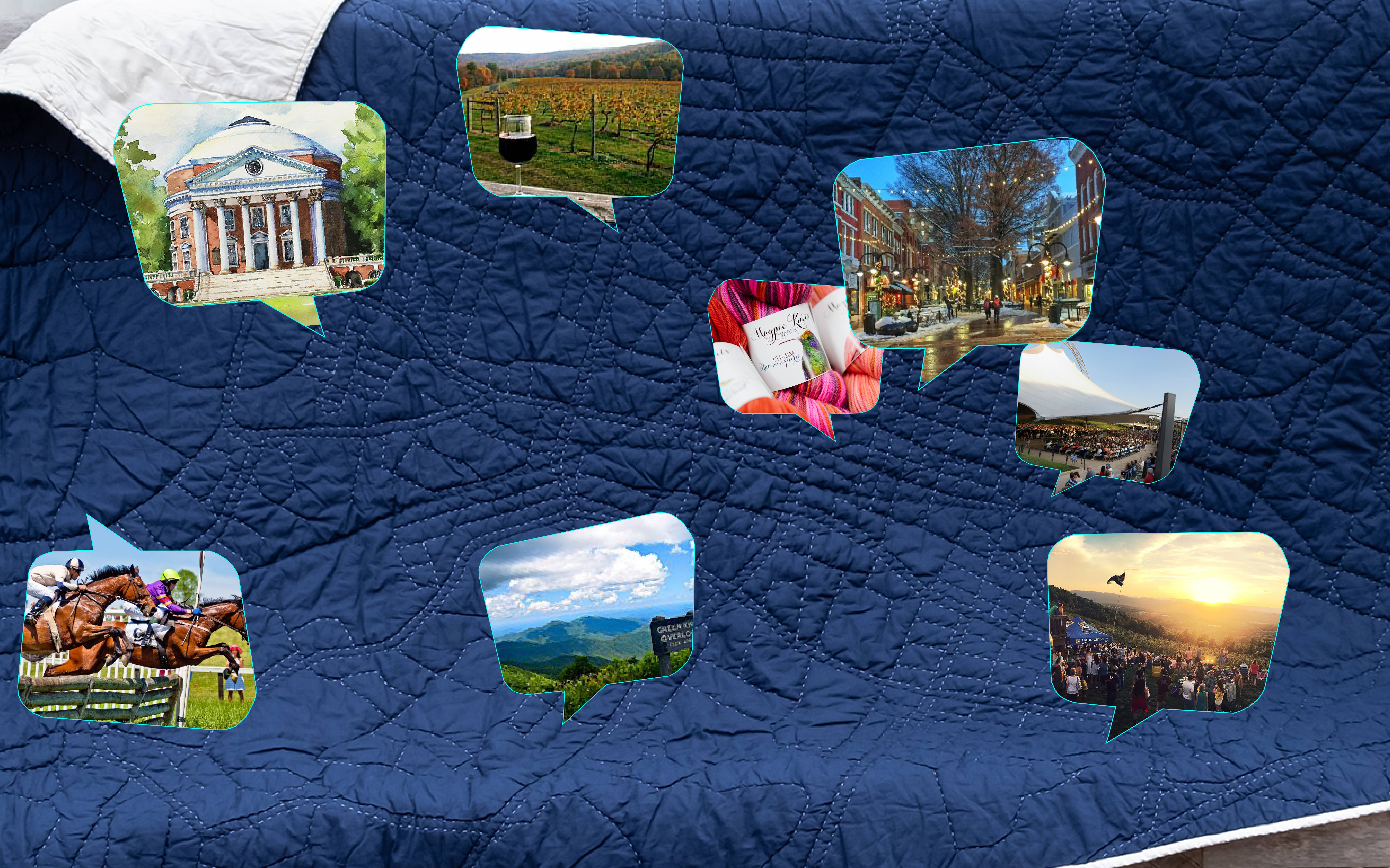 THE PERFECT GIFT FOR GRADS! HAPTIC LAB'S QUILT OF CHARLOTTESVILLE