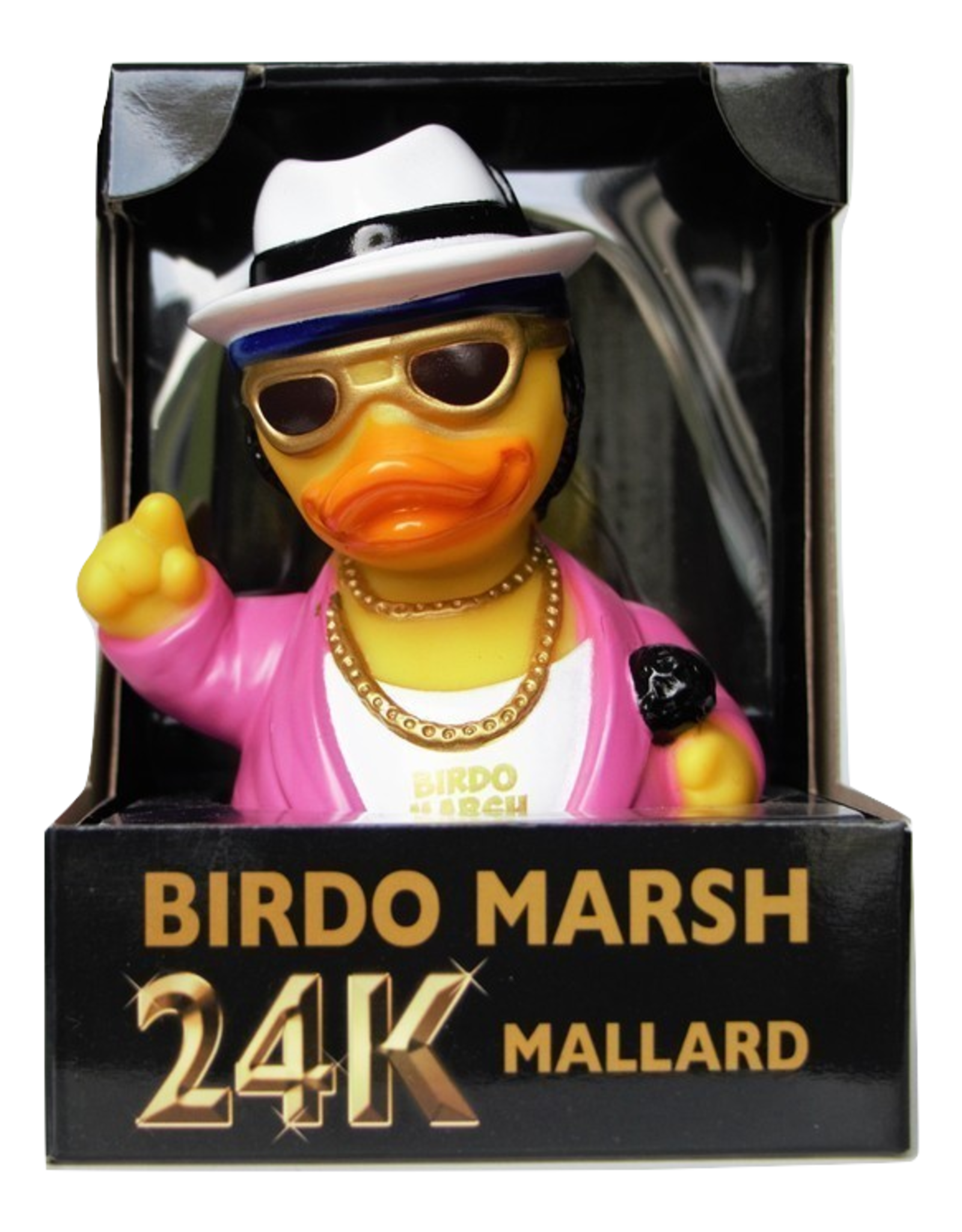 Birdo Marsh - 24K Mallard Rubber Duck