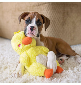 """Cheeky Chumz"" canard - jouet pour chien"
