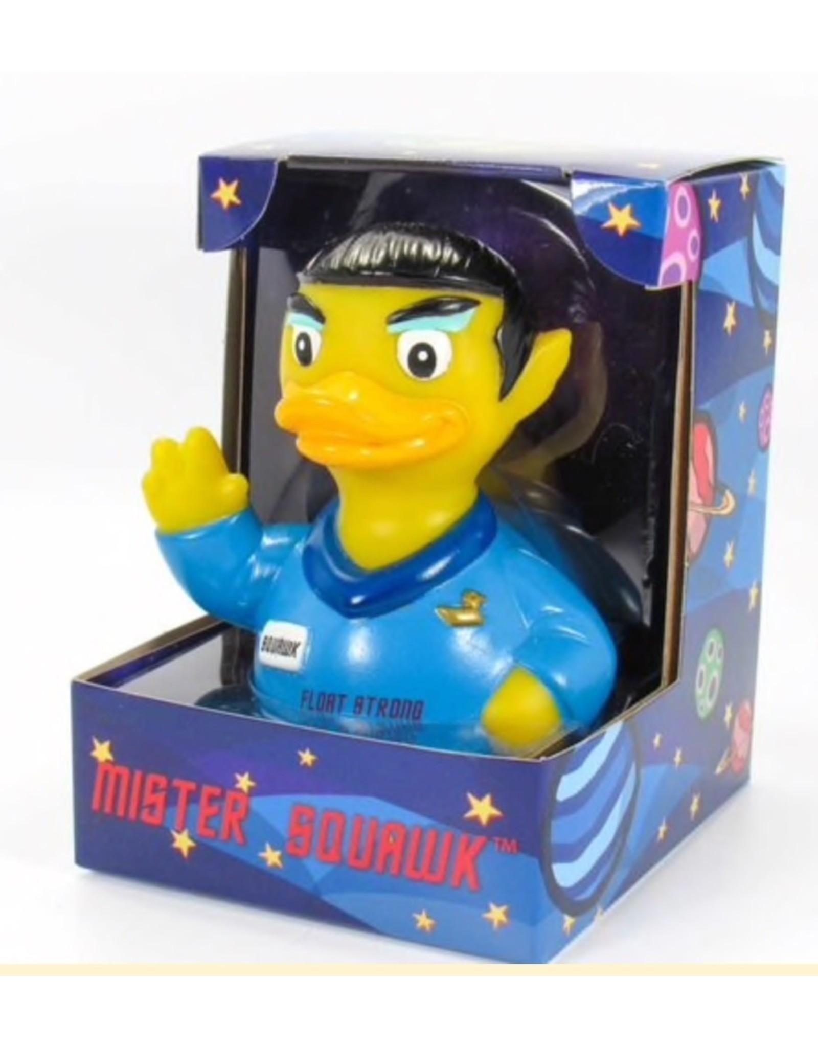 Mister Squawk Rubber Duck