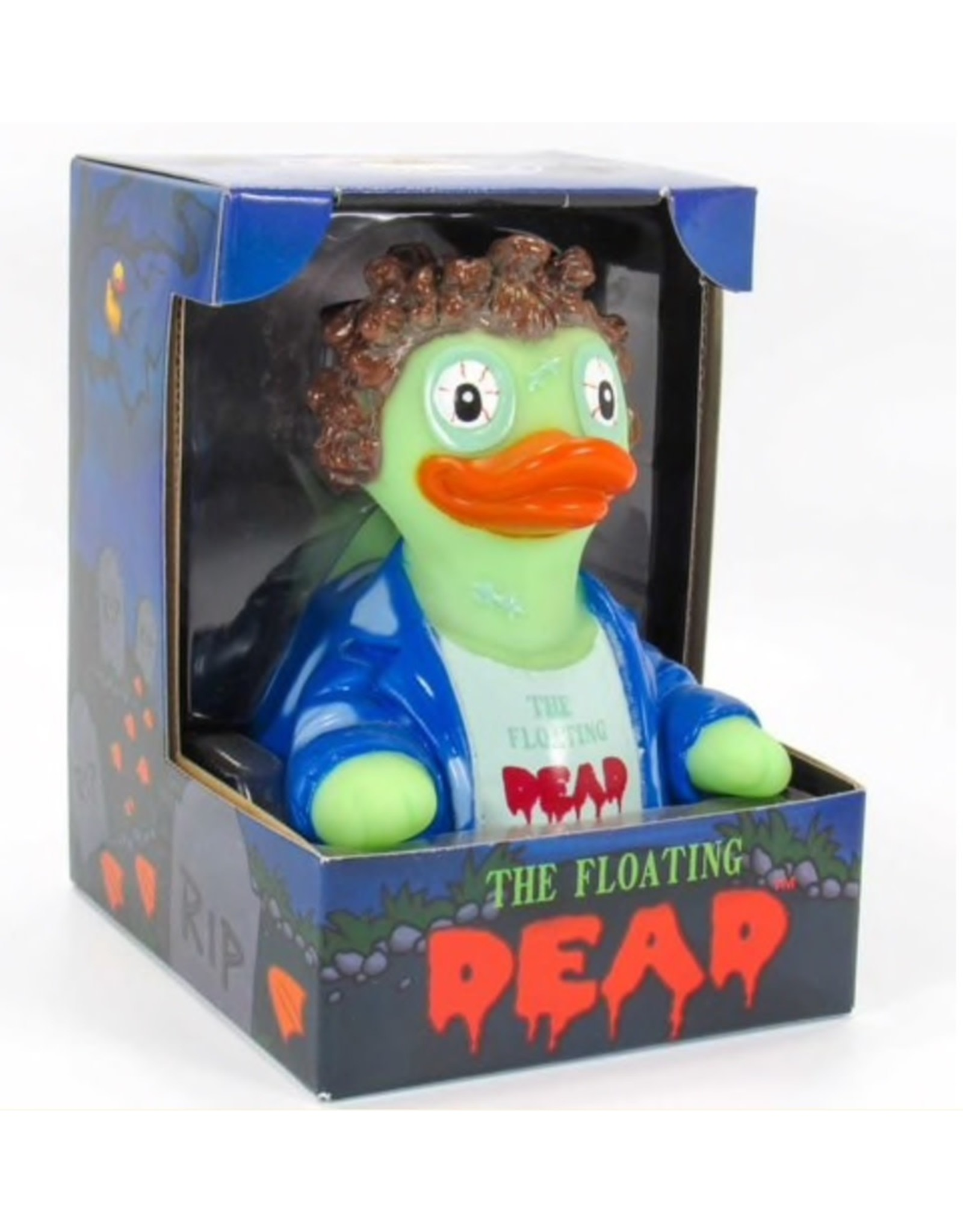 The Floating Dead Rubber Duck