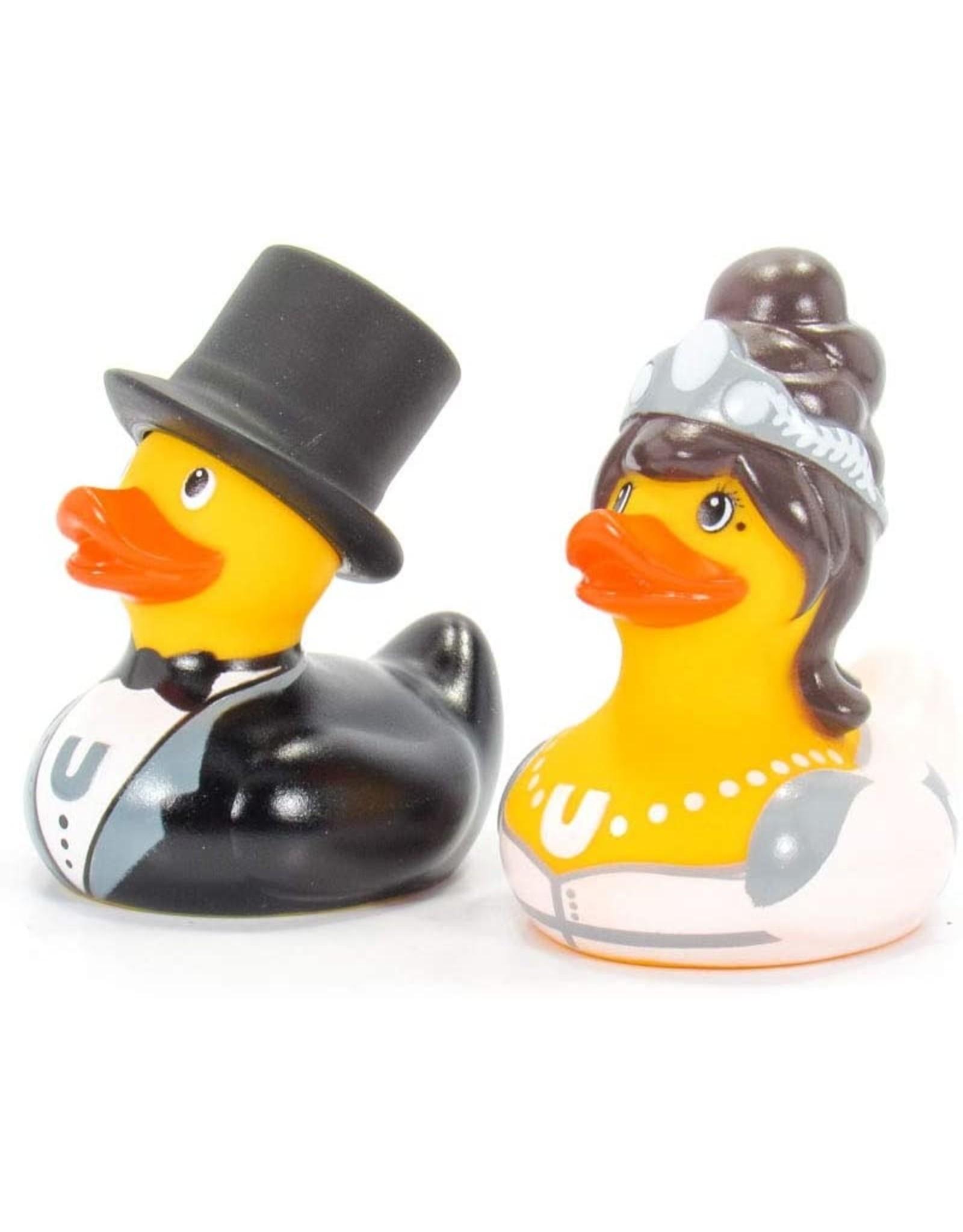 Bride & Groom Rubber Duck Mini Set