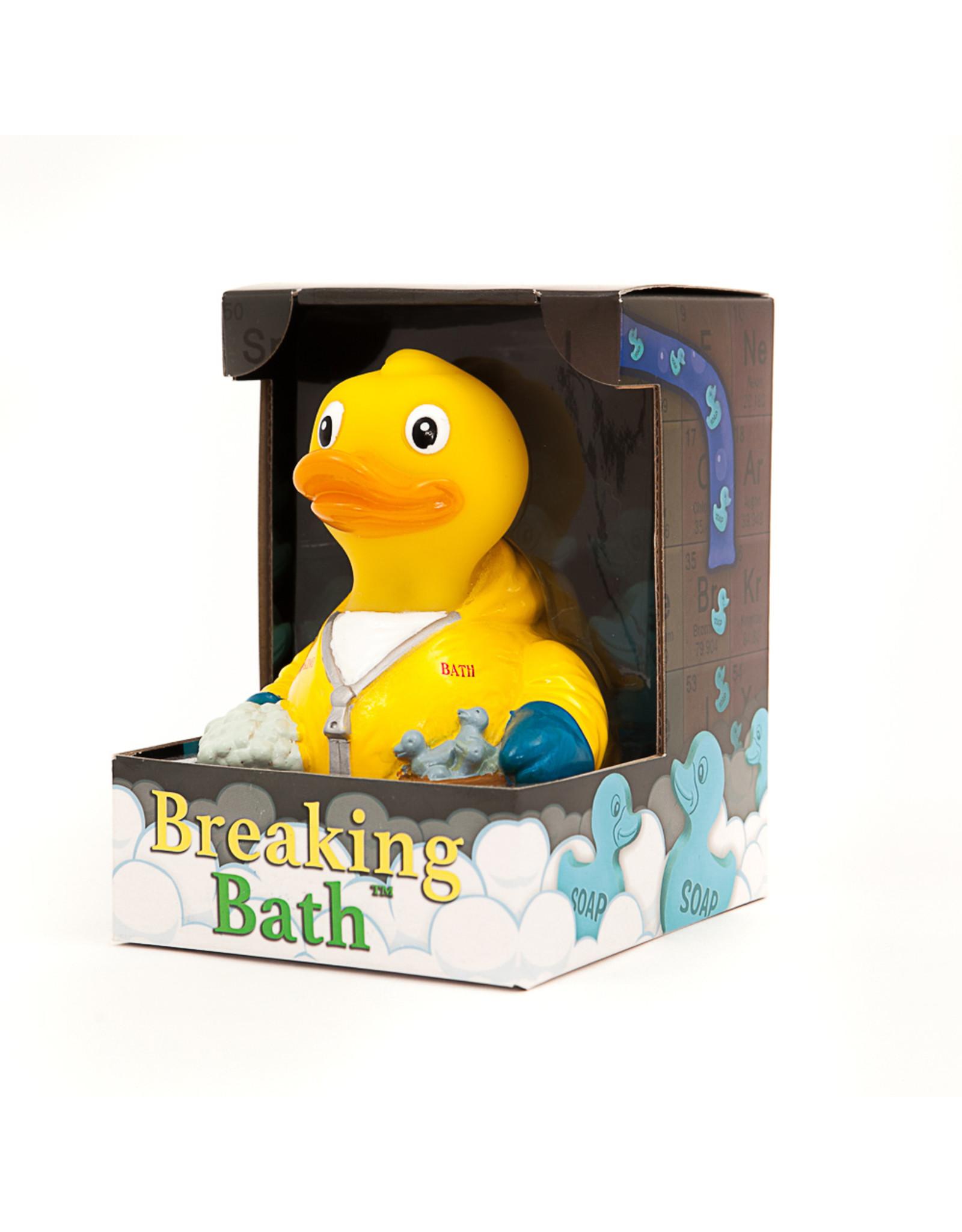 Breaking Bath Rubber Duck