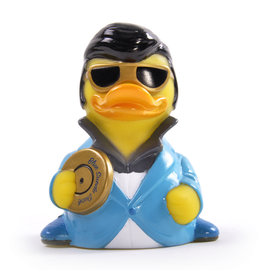 Blue Suede Rock & Roll Rubber Duck