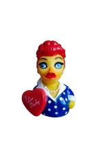 I Love Ducky Rubber Duck