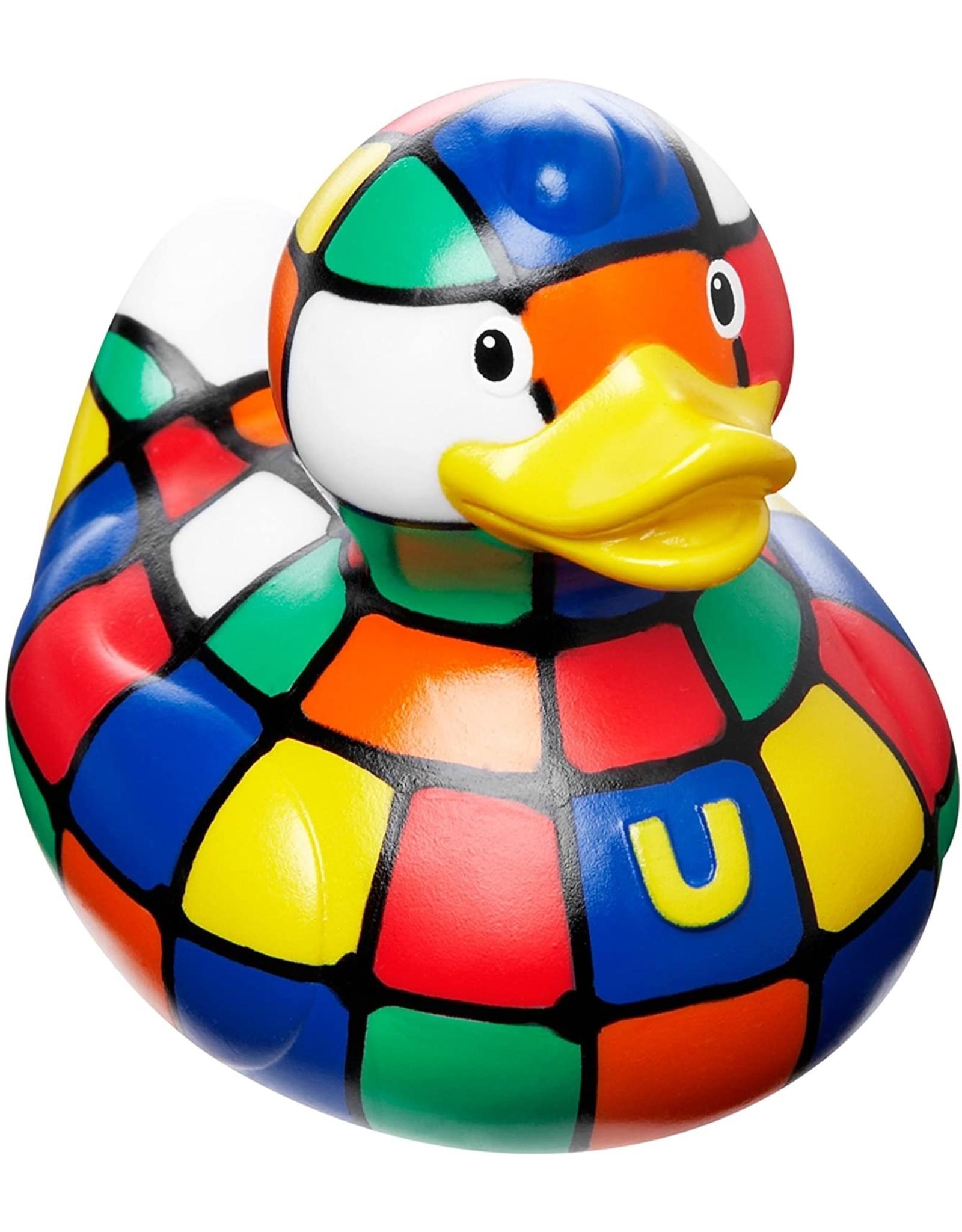 80's Cube Rubber Duck