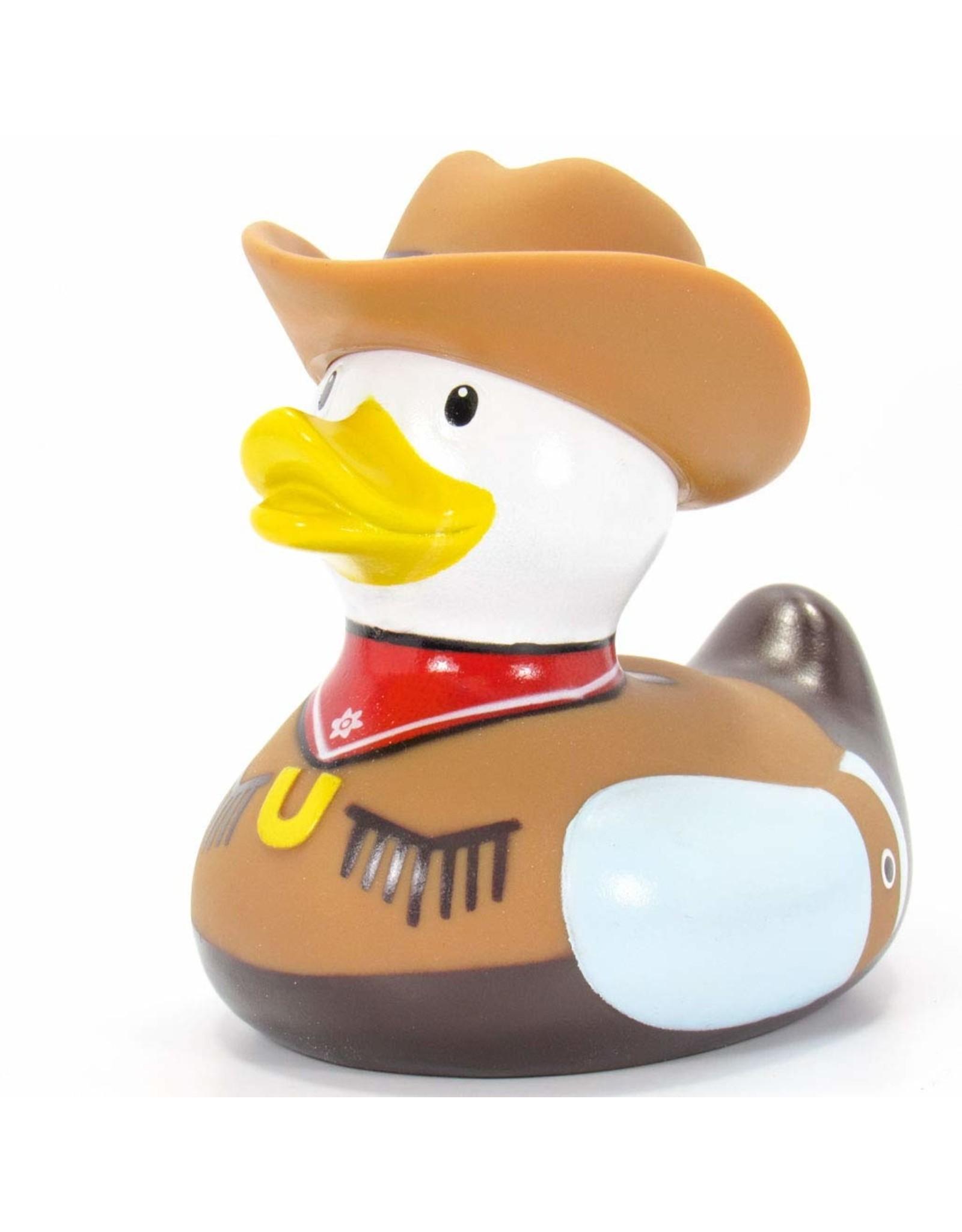 Cowboy Rubber Duck