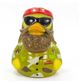 Camo Quacker Rubber Duck