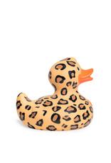 Leopard Rubber Duck