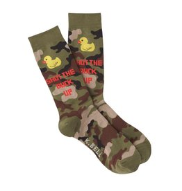Men's Shut The Duck Crew Socks