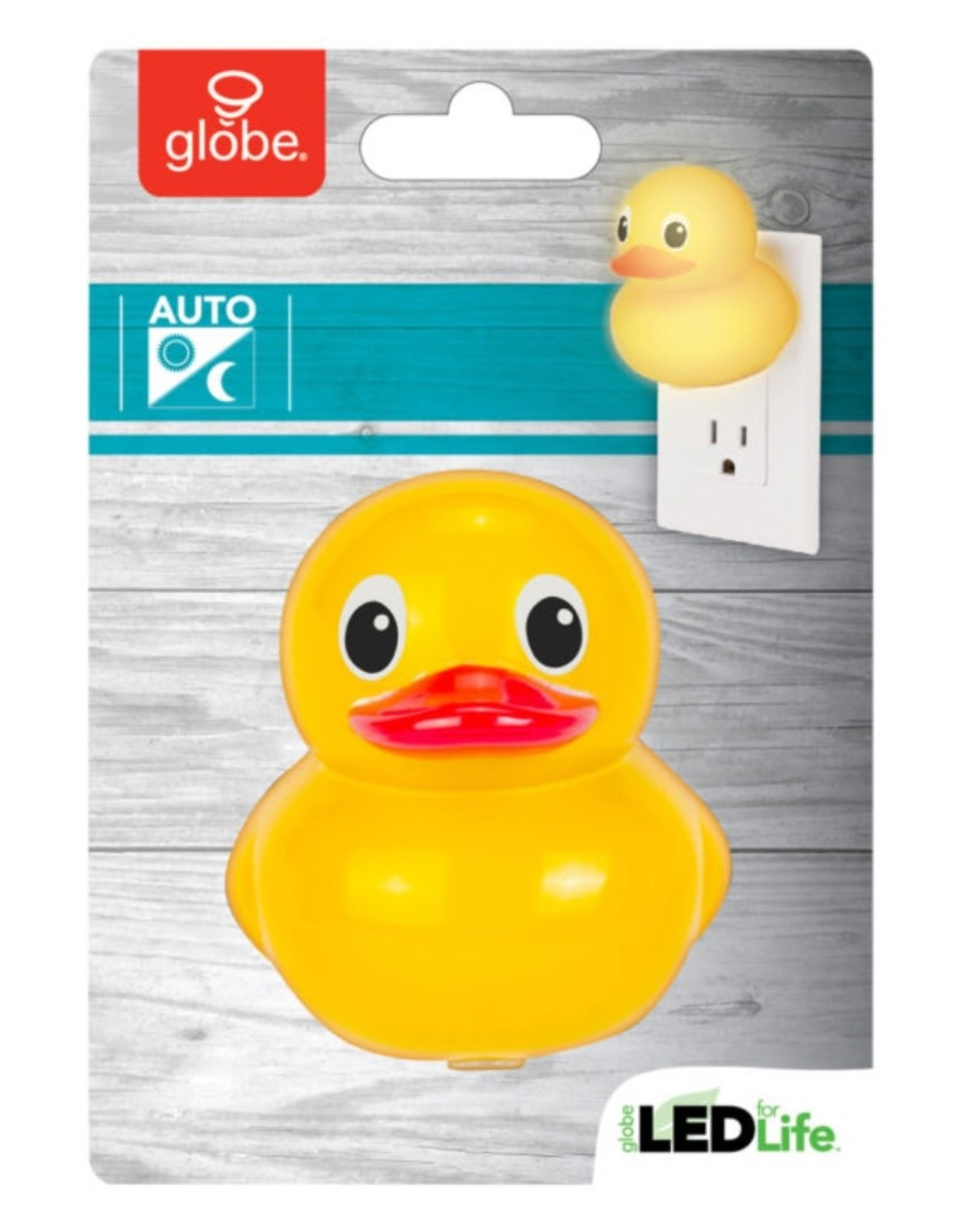 LED Automatic Rubber Duck Night Light