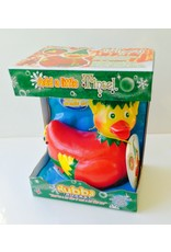 Tinsel the Christmas Elf Rubber Duck