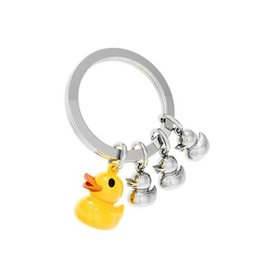 Rubber Duck Family Key Ring