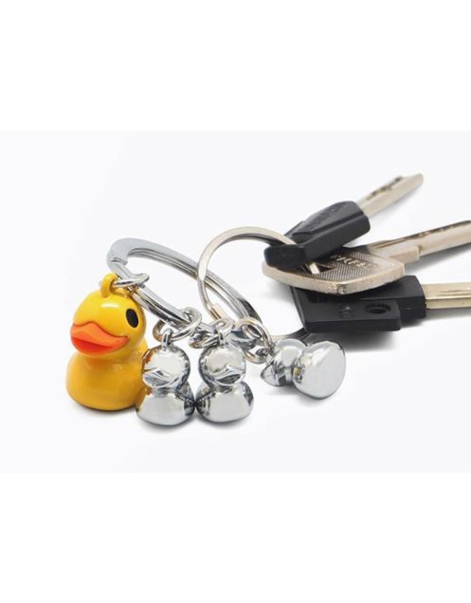 Porte-clés  famille de canards