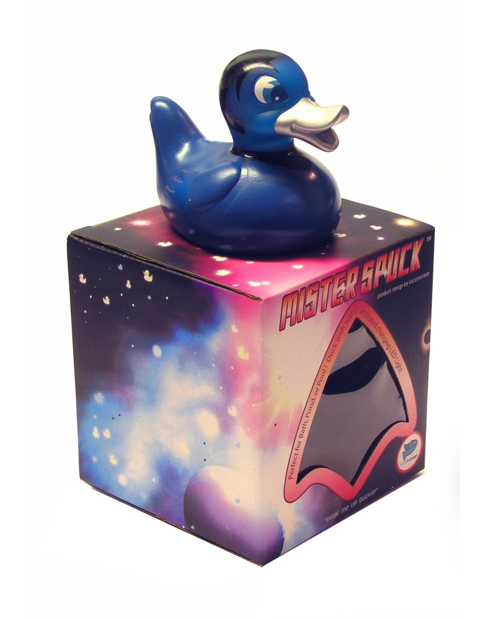 Mr. Spuck -  Glow in the Dark Rubber Duck