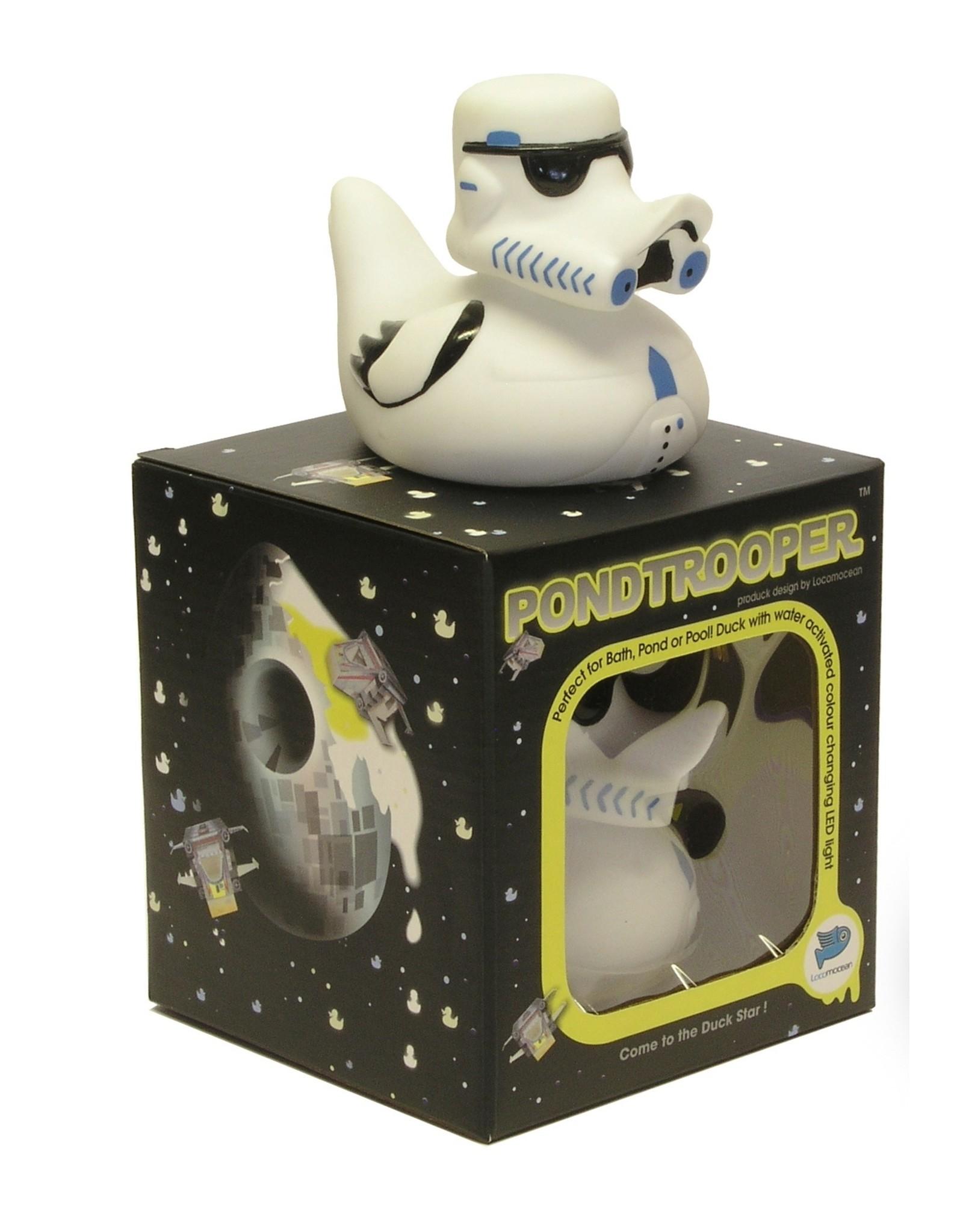 Pond Trooper - Glow in the Dark Rubber Duck
