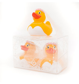 Just Ducks Own Bride & Bride Rubber Duck Set
