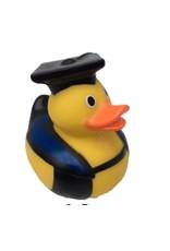 Just Ducks Own Diplômé en robe bleue