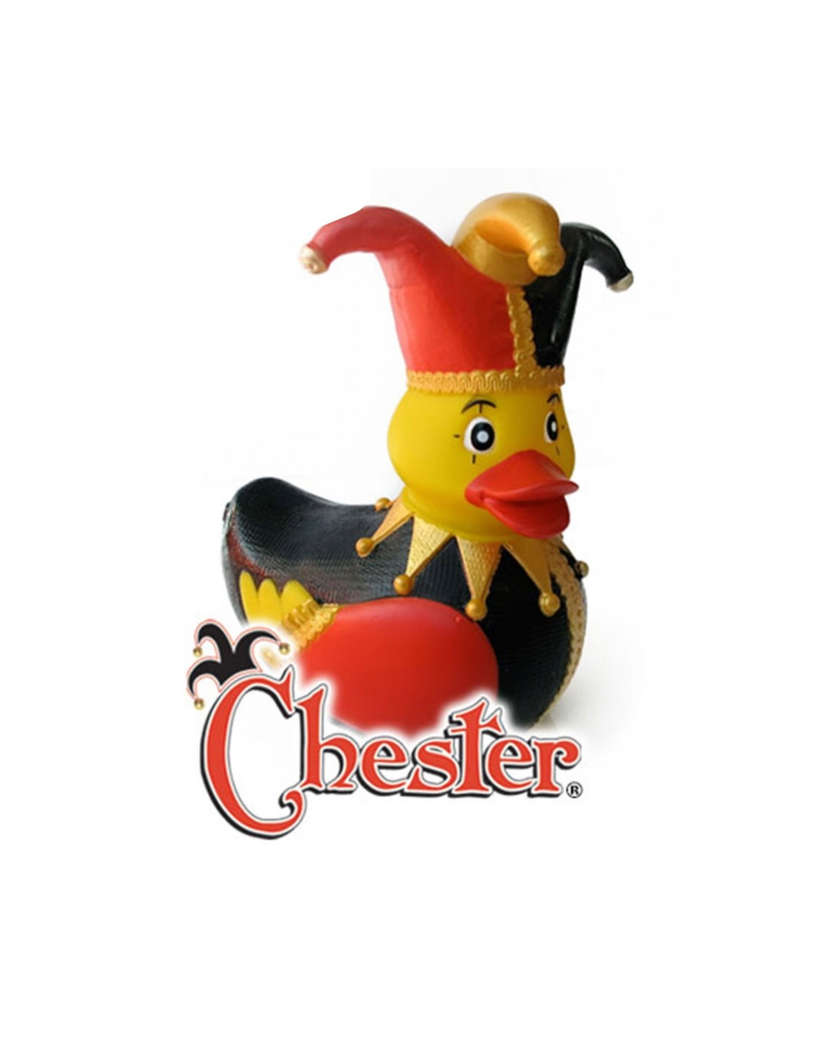 Chester the Jester Rubber Duck