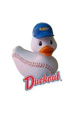 Duckout the Baseball Rubber Duck