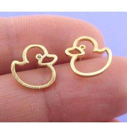 Boucles d'oreilles plaqués or
