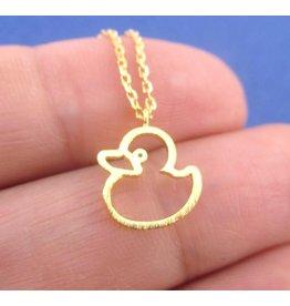 Collier à pendentif plaqués or