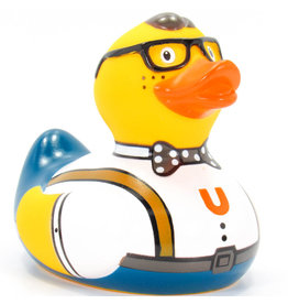 Nerd Rubber Duck