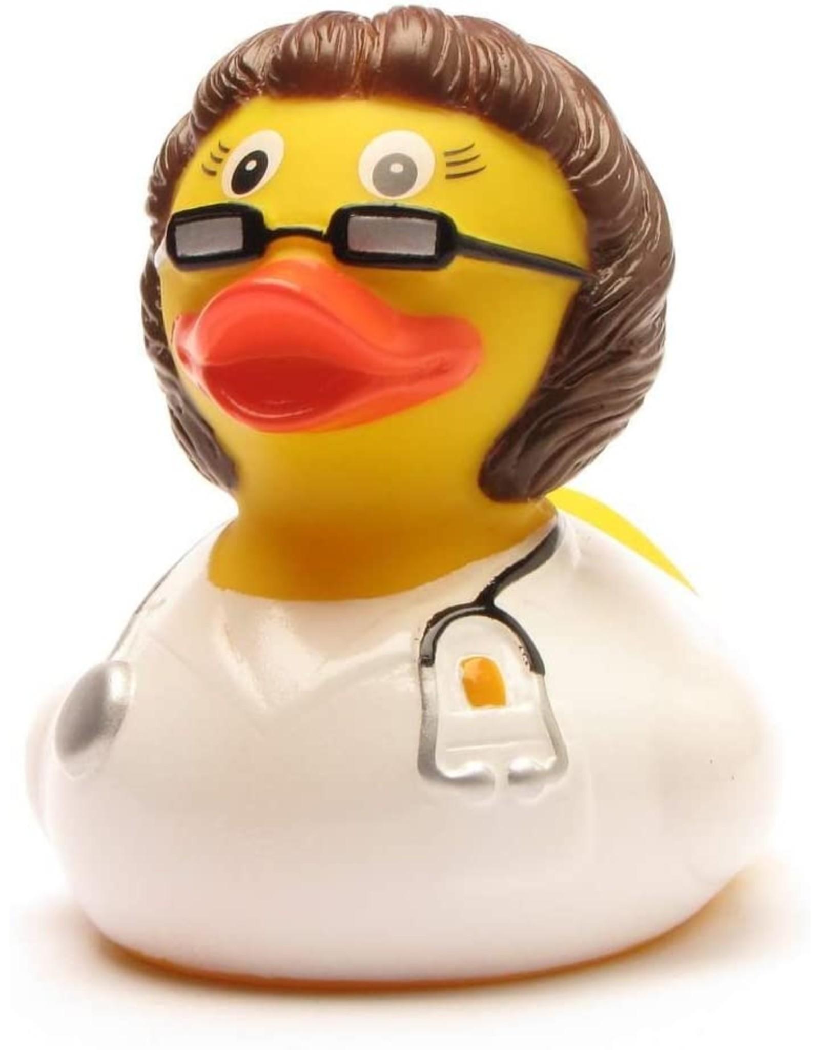 Brunette Doctor Rubber Duck
