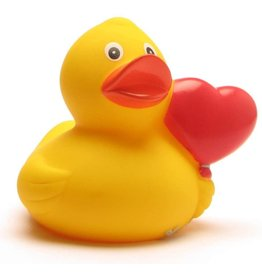 Heart Balloon Rubber Duck