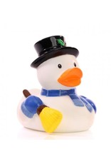 Snowman Rubber Duck