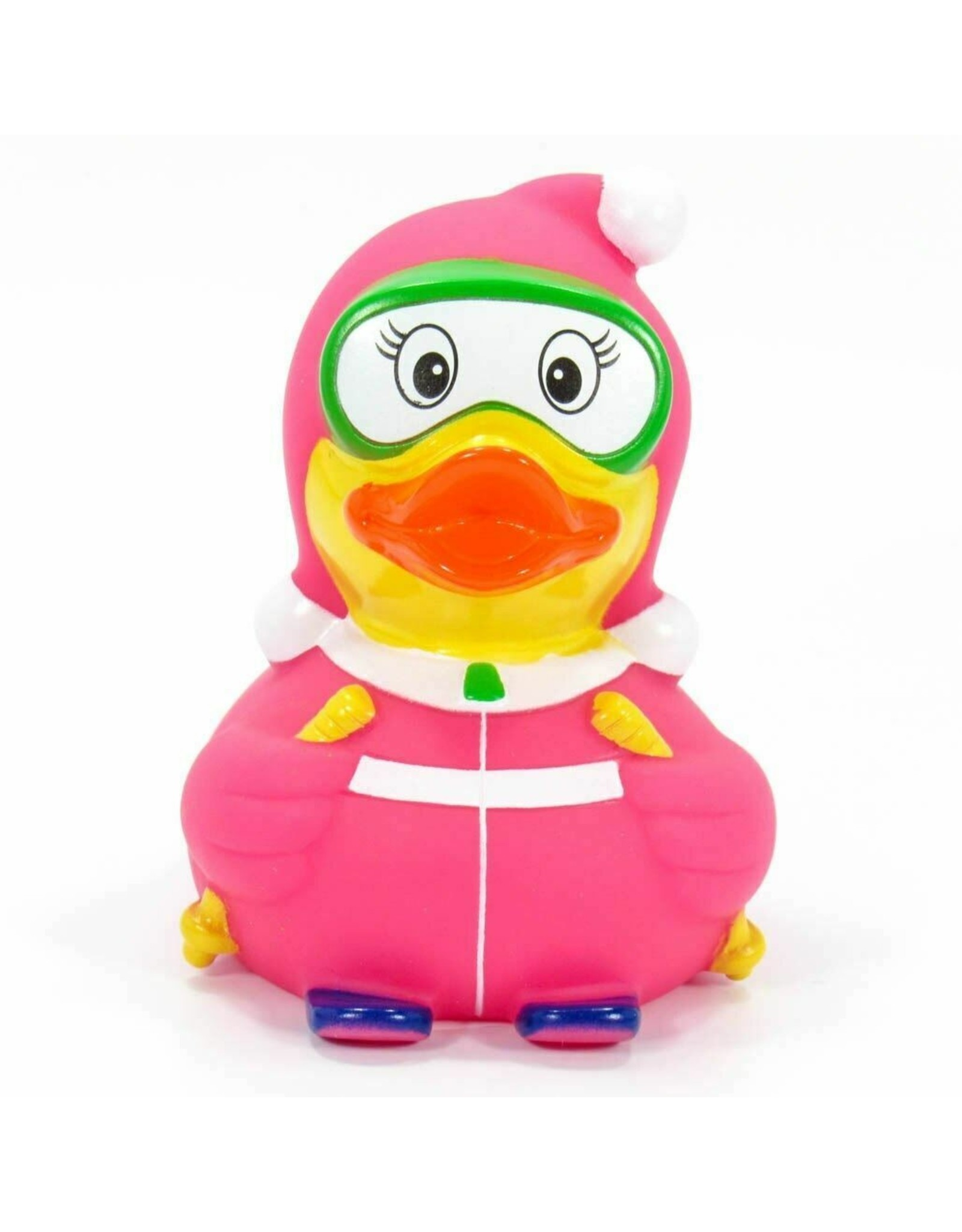 Skier Rubber Duck
