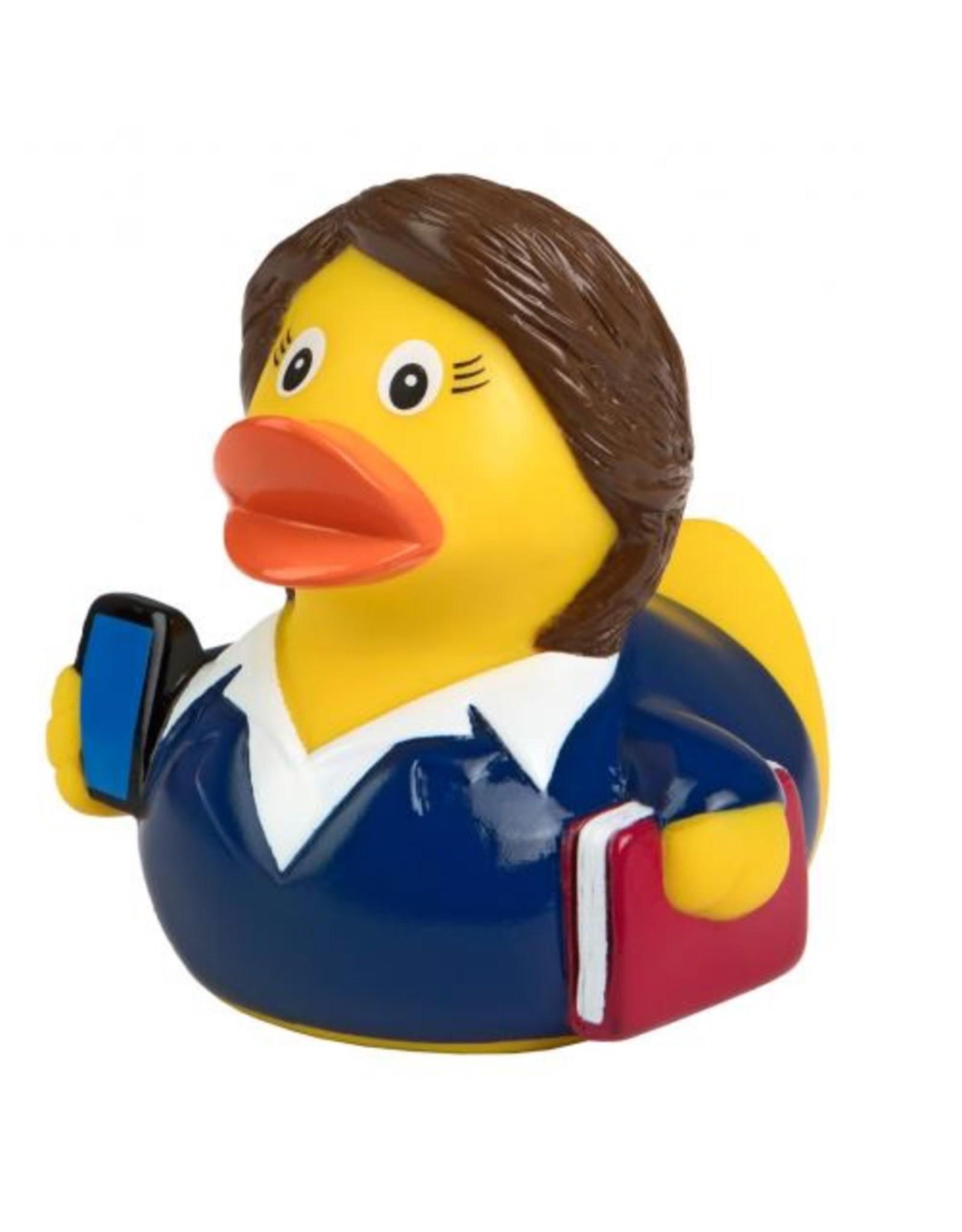 Business Woman Rubber Duck