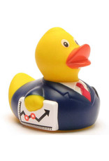 Business Man Rubber Duck