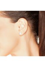 Boucles d'oreilles en forme de canard - argent