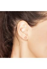 Boucles d'oreilles en forme de canard - or rose