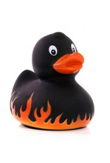 Flames Rubber Duck