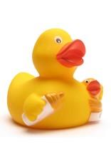 Mom & Baby Bottle Rubber Duck