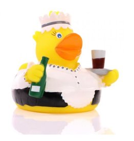 Waitress Rubber Duck
