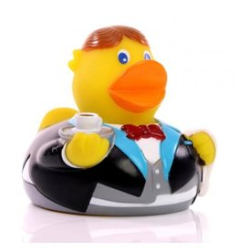 Waiter /Butler Duck Rubber Duck