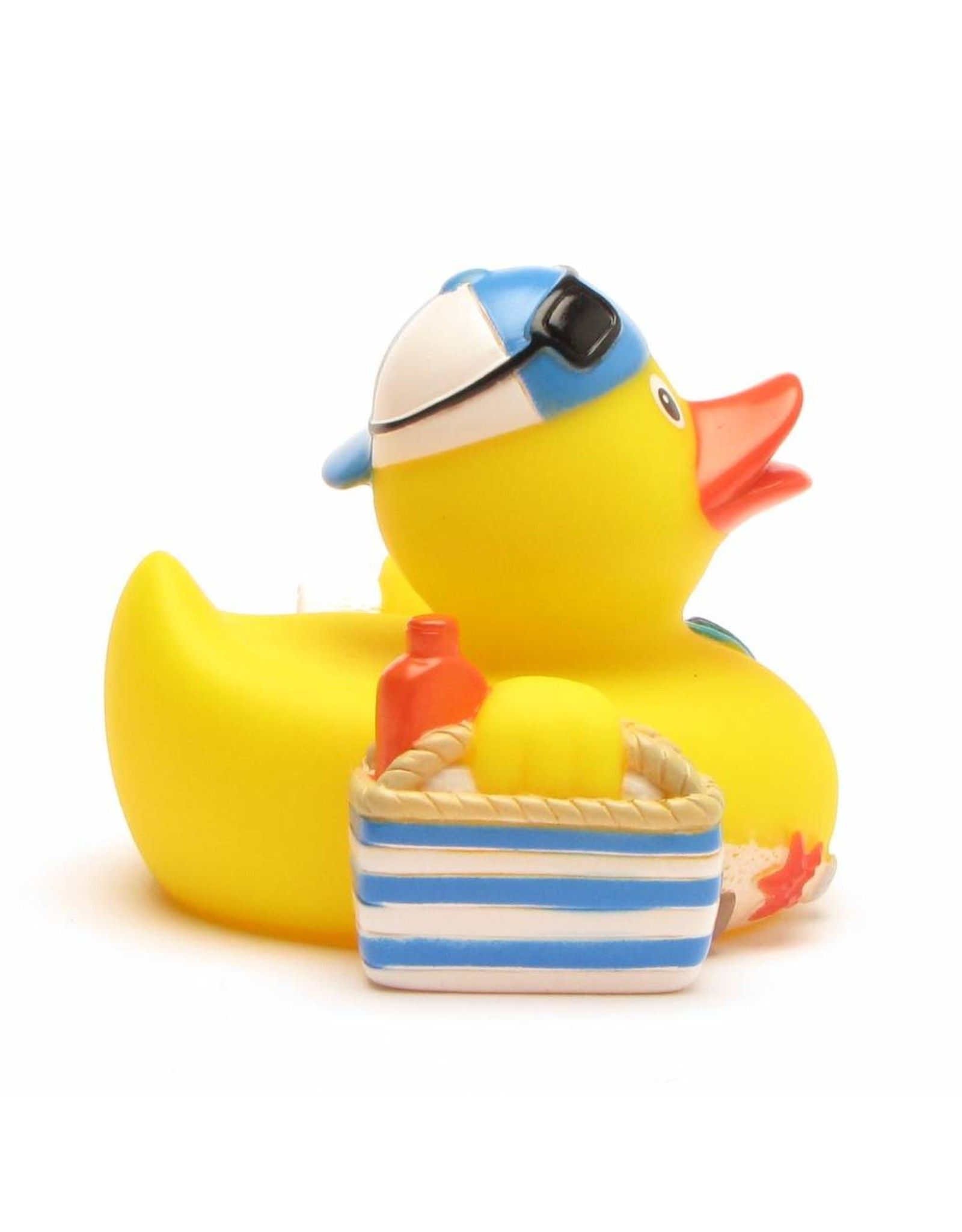 Beach Goer Rubber Duck