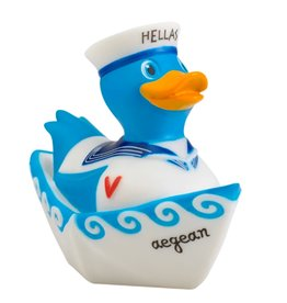 Illusions Greek Sailor Rubber Duck