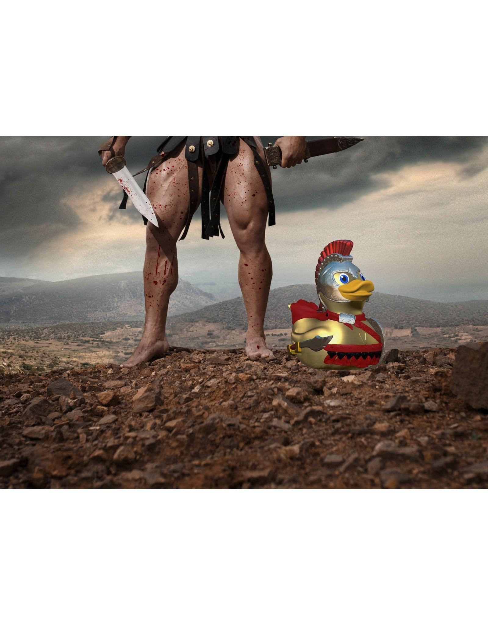 Illusions Leonidas Spartan King Rubber Duck