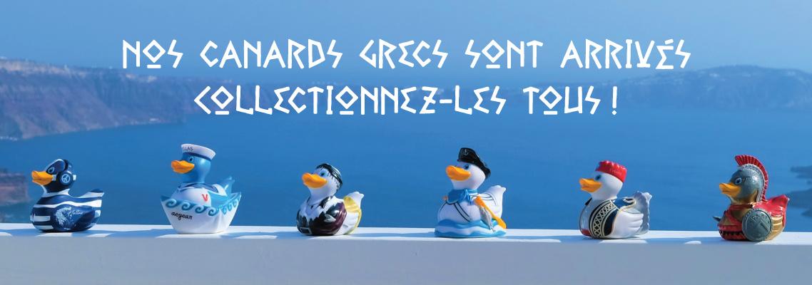 Opa! Magasinez nos canards grecs!