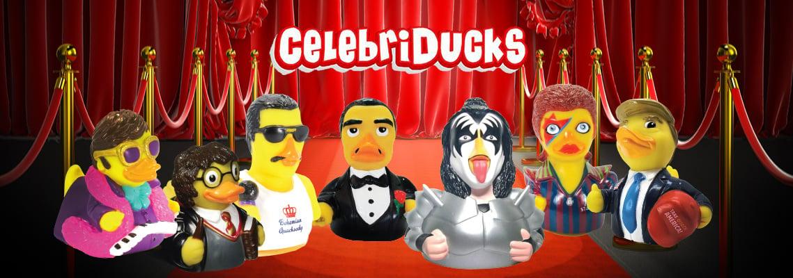 Shop our Celebrity Rubber Ducks!