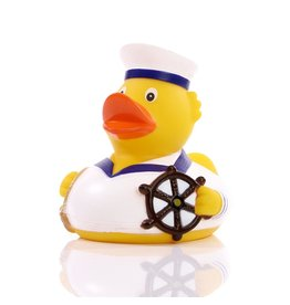 White Sailor Rubber Duck