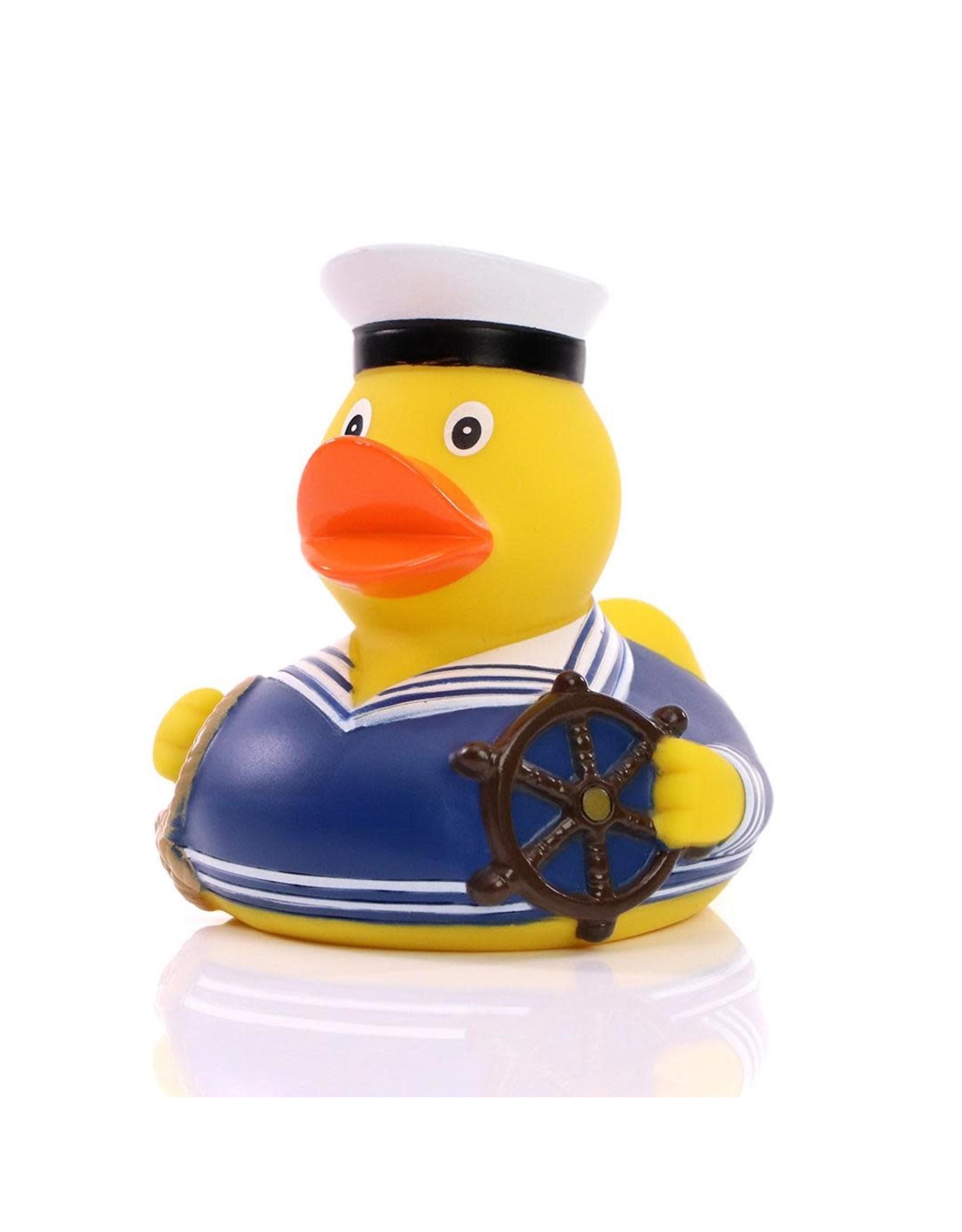 Blue Sailor Rubber Duck