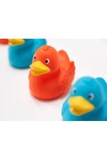 Bright Orange Rubber Duck